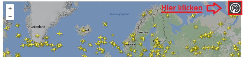 Flightradar24 Flug suchen