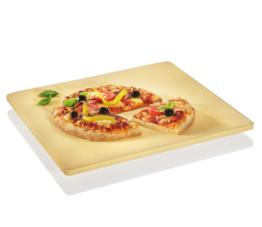 Küchenprofi Pizza Stein Profi mit Fuß, rechteckig, 40 x 35,5 cm Pasta & Pizza 1086150040 Pizzastein - 1086150040