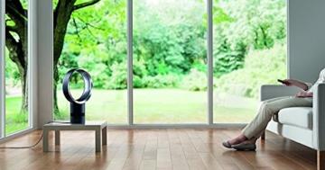 Dyson Cool AM06 Tischventilator mit Air Multiplier Technologie inkl. Fernbedienung / Energieeffizienter Ventilator mit Sleep-Timer Funktion -