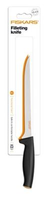 Fiskars Filetiermesser, Gesamtlänge: 32 cm, Qualitätsstahl/Kunststoff, Functional Form, 1014200 -