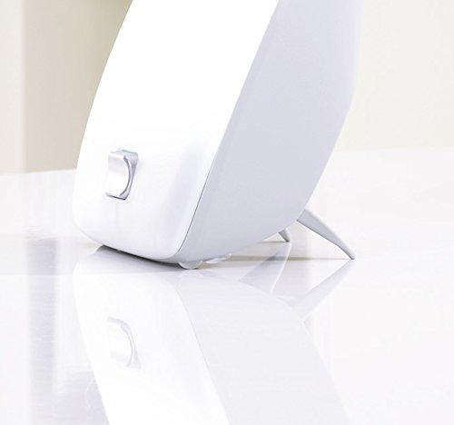 Beurer TL 40 Tageslichtlampe, Ausgleich von Lichtmangelerscheinungen mit 10.000 Lux, Weiß -